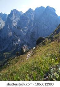 hiking on the mountain Stripsenkopf