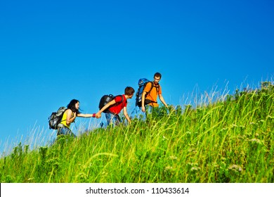 Hiking school holidays for teenagers