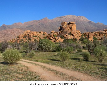 Hiking in Tafraout in South West of Morocco