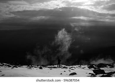 Hiking in the Tatras.