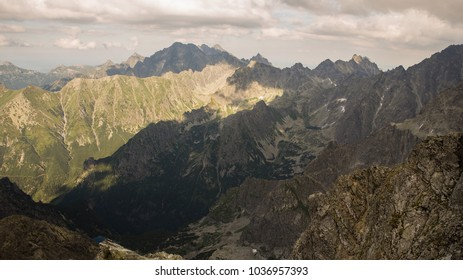 Hiking in Tatry mountains in Poland side