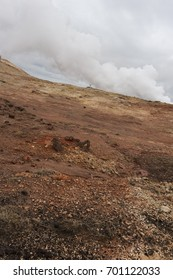 Hiking through the geothermal areas of Southwest Iceland