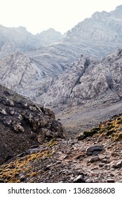 Hiking to Toubkal, the Tallest Peak in the High Atlas Mountains in Morocco