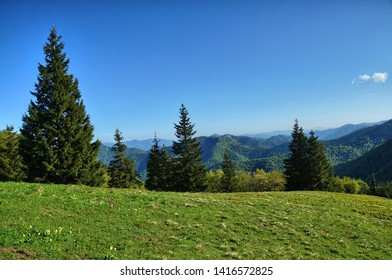 hiking trail along the mountains in Slovakia, Velka Fatra - Shutterstock ID 1416572825