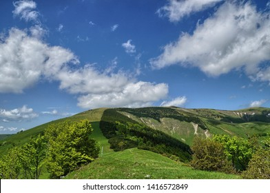 hiking trail along the mountains in Slovakia, Velka Fatra - Shutterstock ID 1416572849