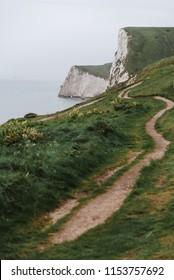 Hiking Trail along the United Kingdom Coastline, Durdle Door
