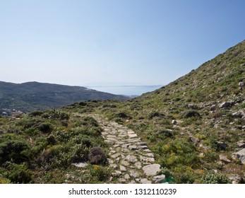 Hiking Trail in the Greek Islands