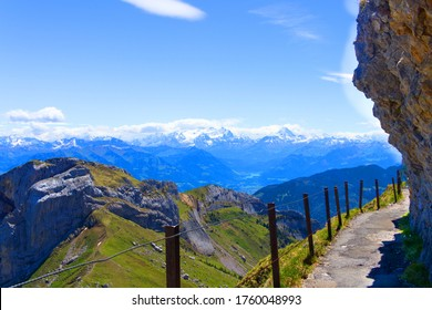 Hiking trail from Mount Pilatus Kulm  to Tomlishorm