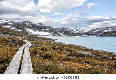 Hiking Trail in Sweden - Lapland