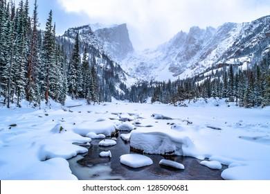 Hiking in the Winter Wonderland of Colorado