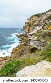 hikink in the royal national park, providential lookout point, new south wales near sydney, australia