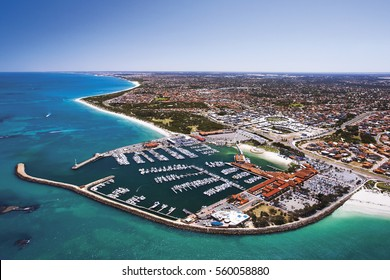Hilary's Boat Harbour, north of Perth, Western Australia, is a popular destination for locals and tourists visiting Perth.