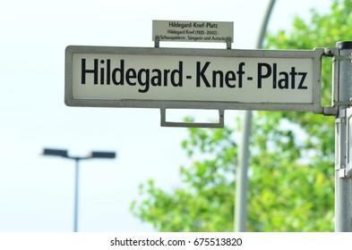 Hilde-gard square Berlin