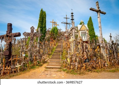 Hill of crosses, Kryziu kalnas, Lithuania