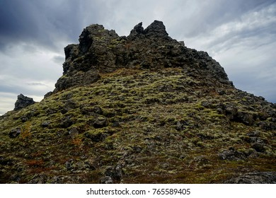 Hill at Dimmuborgir near Lake Myvatn