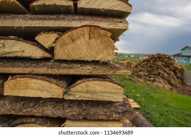 Hill of firewood