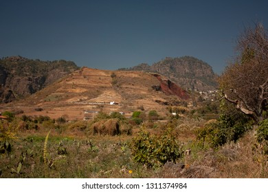 Hill of the great speaker with plant and animal biodiversity located in magical town in a state of Mexico