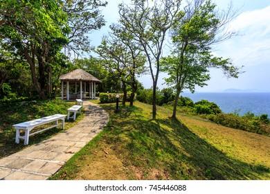 Hill at Koh Maiton island, Phuket,Thailand