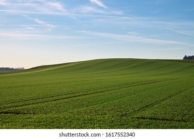 hill mountain field agriculture scenic