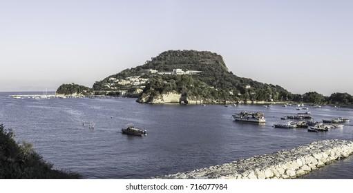 A hill on the Mediterranean sea