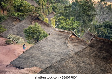 Hill tribe villages.
