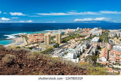 Hill view for Los Cristianos