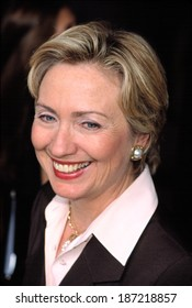 Hillary Rodham Clinton at the Redbook Mothers and Shakers Awards, NYC, 9/10/2001