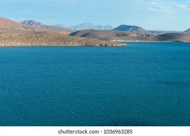 Hills along the Sea of Cortez, Pichilingue Harbor, La Paz, Baja California, Mexico
