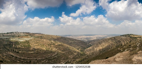 Hills along Way of the Patriarchs or Way of the Fathers. The name is used in biblical narratives that it was frequently traveled by Abraham, Isaac and Jacob. Samaria, Israel