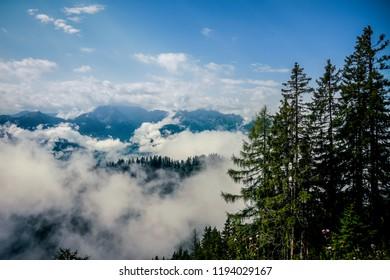 Hills in Austria