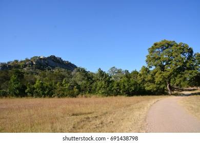 Hills in Great Zimbabwe,