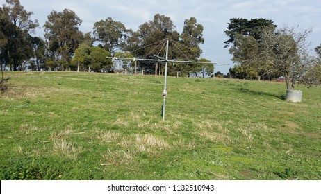 Hills Hoist clothesline