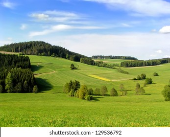 Hills of Muehlviertel, part of Upper Austria