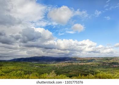 Hills Panoramic Portuguese Landscape