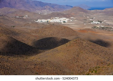 hills, valleys, village and mountains in southern Spain, Andalusia