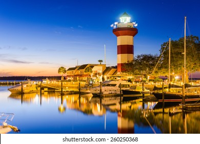 Hilton Head, South Carolina, USA at the Lighthouse.