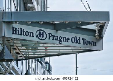 Hilton Prague Old Town Hotel - PRAGUE / CZECH REPUBLIC - MARCH 20, 2017