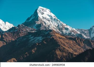 Himalaya mountains, Nepal.