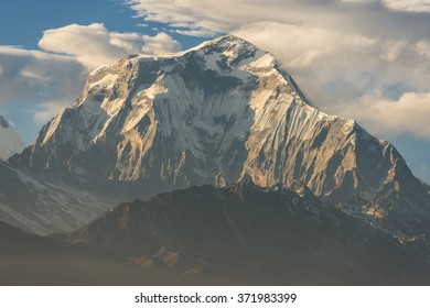 Himalaya Mountains View from Poon Hill,Nepal