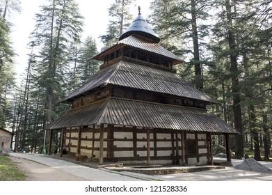 Himalayan hindu temple