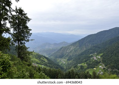 Himalayan Mountain Range Seen from Dalhousie