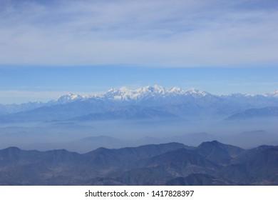 Himalayan Range - Cascading Mountains - Nepal - Shutterstock ID 1417828397