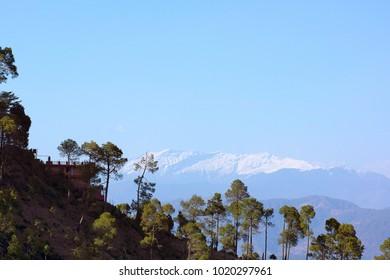 Himalayan Valley, Kasauli, Himachal Pradesh, India