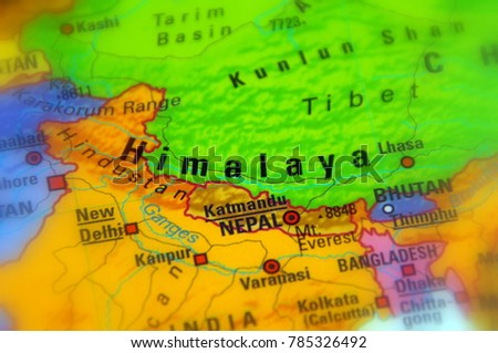 Himalayas himalaya mountain range asia stock photo edit now himalayas or himalaya mountain range in asia gumiabroncs Choice Image