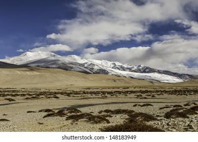 Himalayas mountain in Ladakh. India