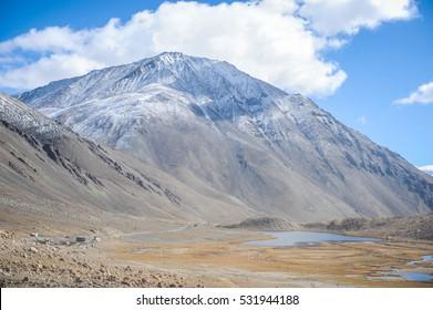 Himalyan mountains in India, Asia