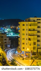 Himara, Albania - Night View - Himara / Albania - July 2017