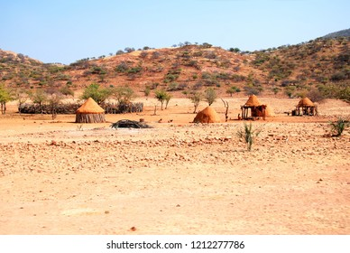 Himba village in Namibia, Africa