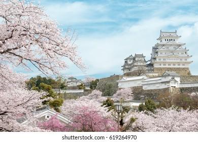 Himeji Castle in  Hemeji, Japan