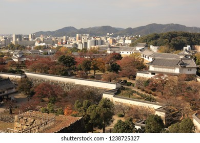 HIMEJI,JAPAN-Nov 21,2018: Himeji Castle is a famous Japanese landmark and a World Cultural Heritage site.